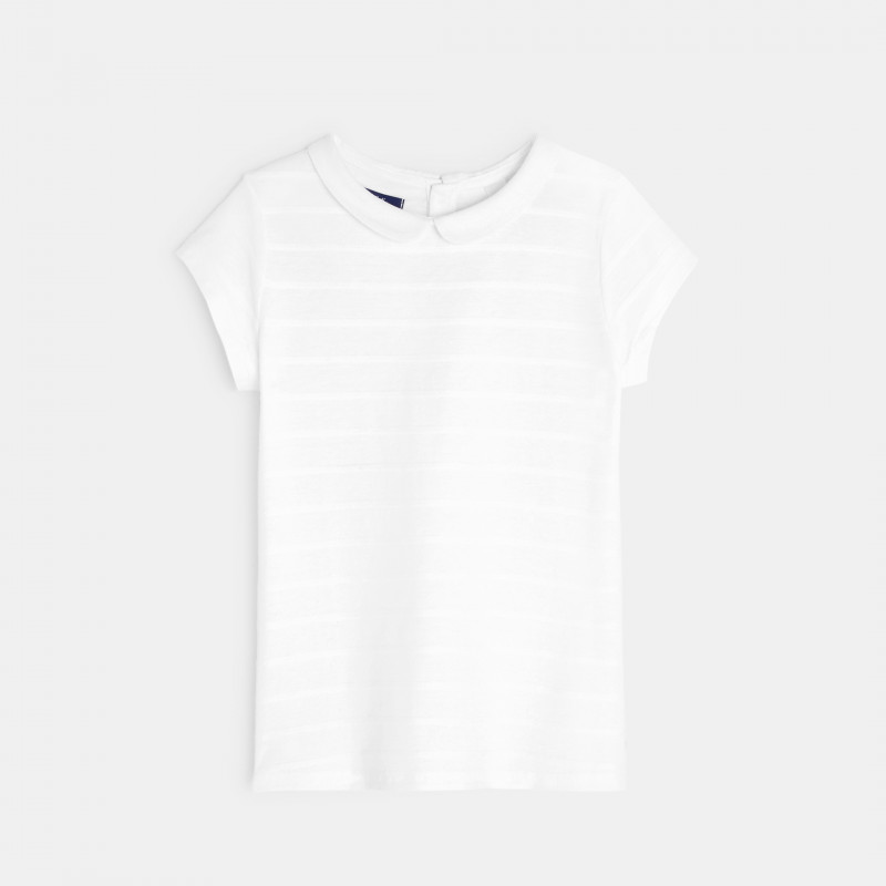 T-shirt col Claudine