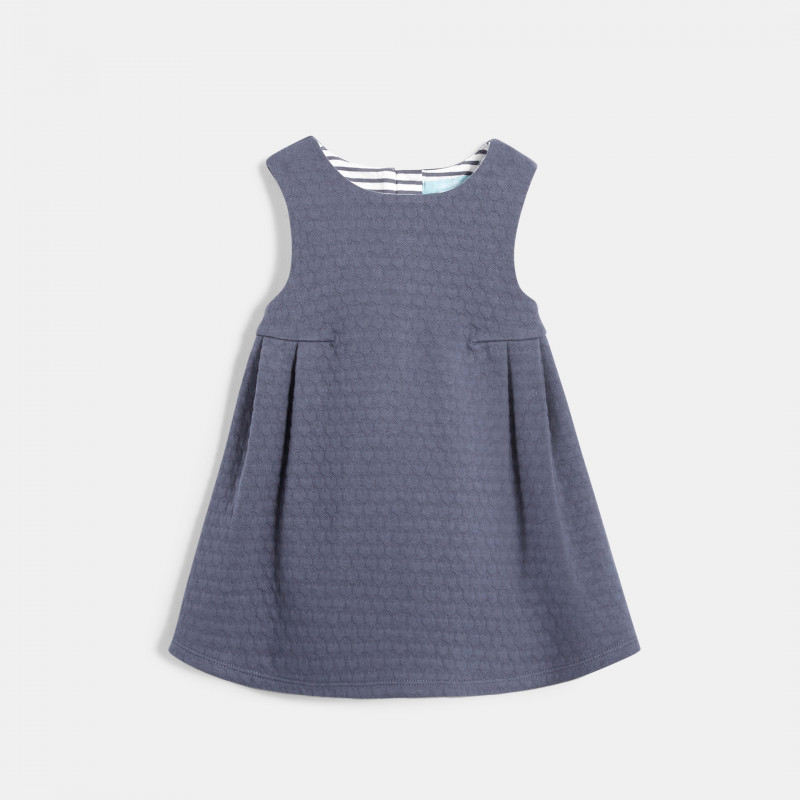 Robe chasuble en maille tubique